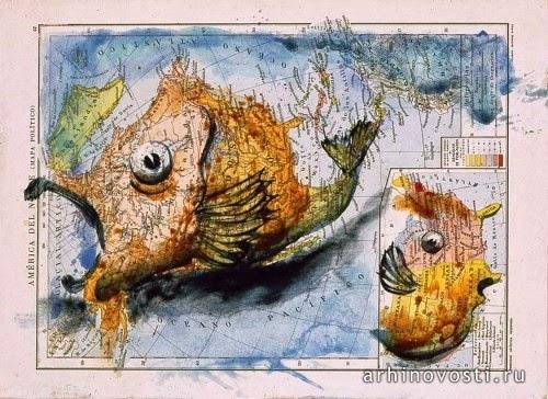 Карта Северной Америки, Фернандо Винсенте (Fernando Vicente)