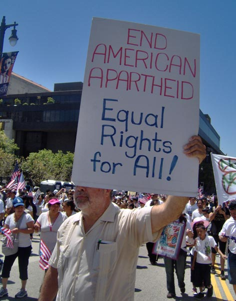 american apartheid thesis Thesis statement: apartheid may have been a horrible era in south african history, but only so because the whites were forced to take action against the outrageous and threatening deeds of the blacks in order to sustain their power.