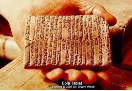 Penemuan prasasti Ebla