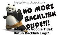 google tidak butuh backlink