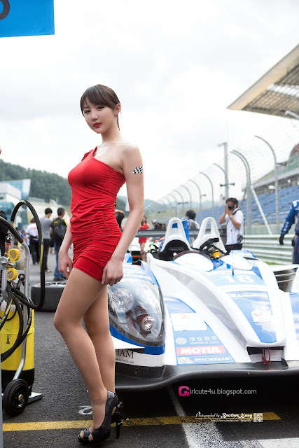 2 Yeon Da Bin - Asian Le Mans Series 2013 -Very cute asian girl - girlcute4u.blogspot.com