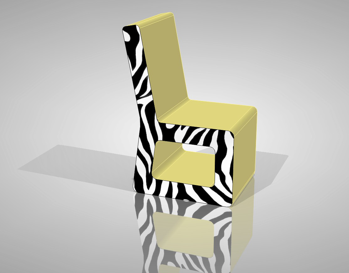 Ristorante con le tavole e le sedie del cartone a homi