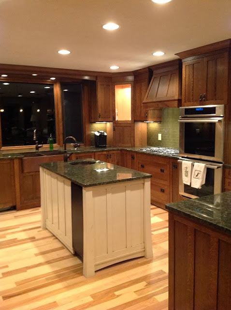 green-glass-tile, mission-range-hood