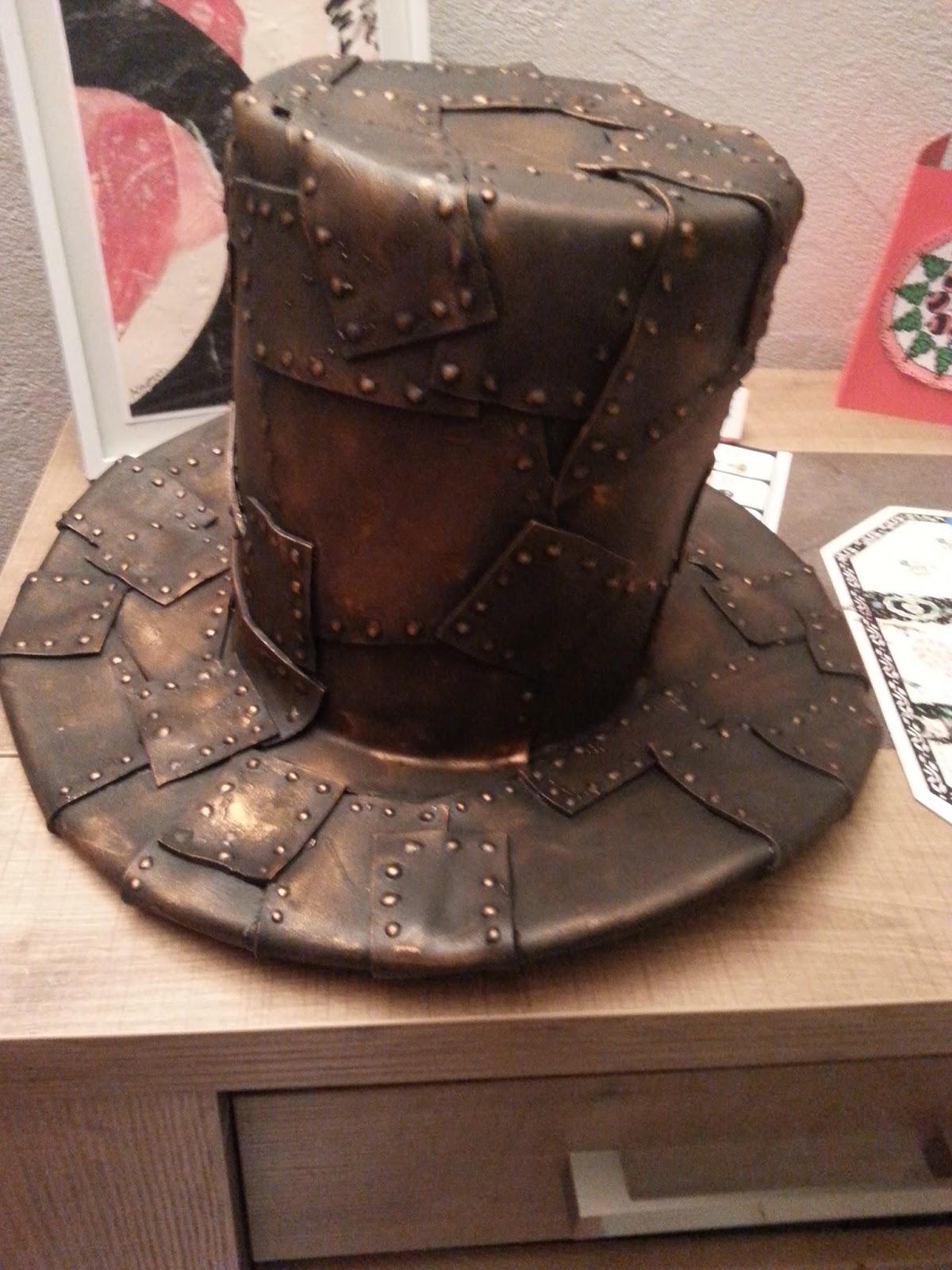 cosplay cr ation fabriquer un chapeau haut de forme steampunk. Black Bedroom Furniture Sets. Home Design Ideas