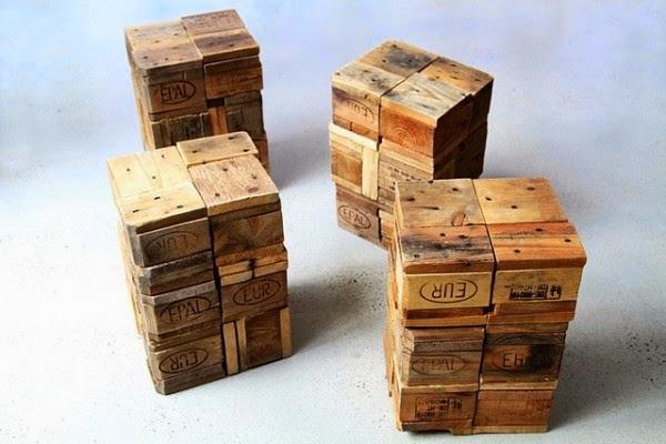 observarse el trozo de la tabla cortado clavado al bloque de madera despus se han unido los bloques entre ellos utilizando un pegamento para madera