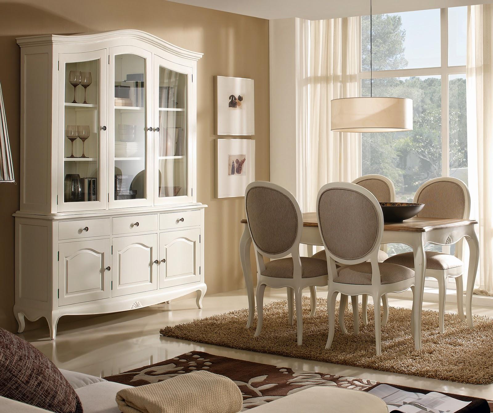 Muebles de comedor 4 opciones para el comedor for Mobiliario para comedor