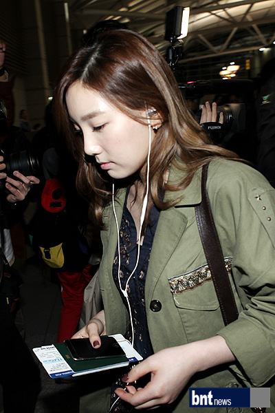 SNSD Airport Fashion - Taeyeon