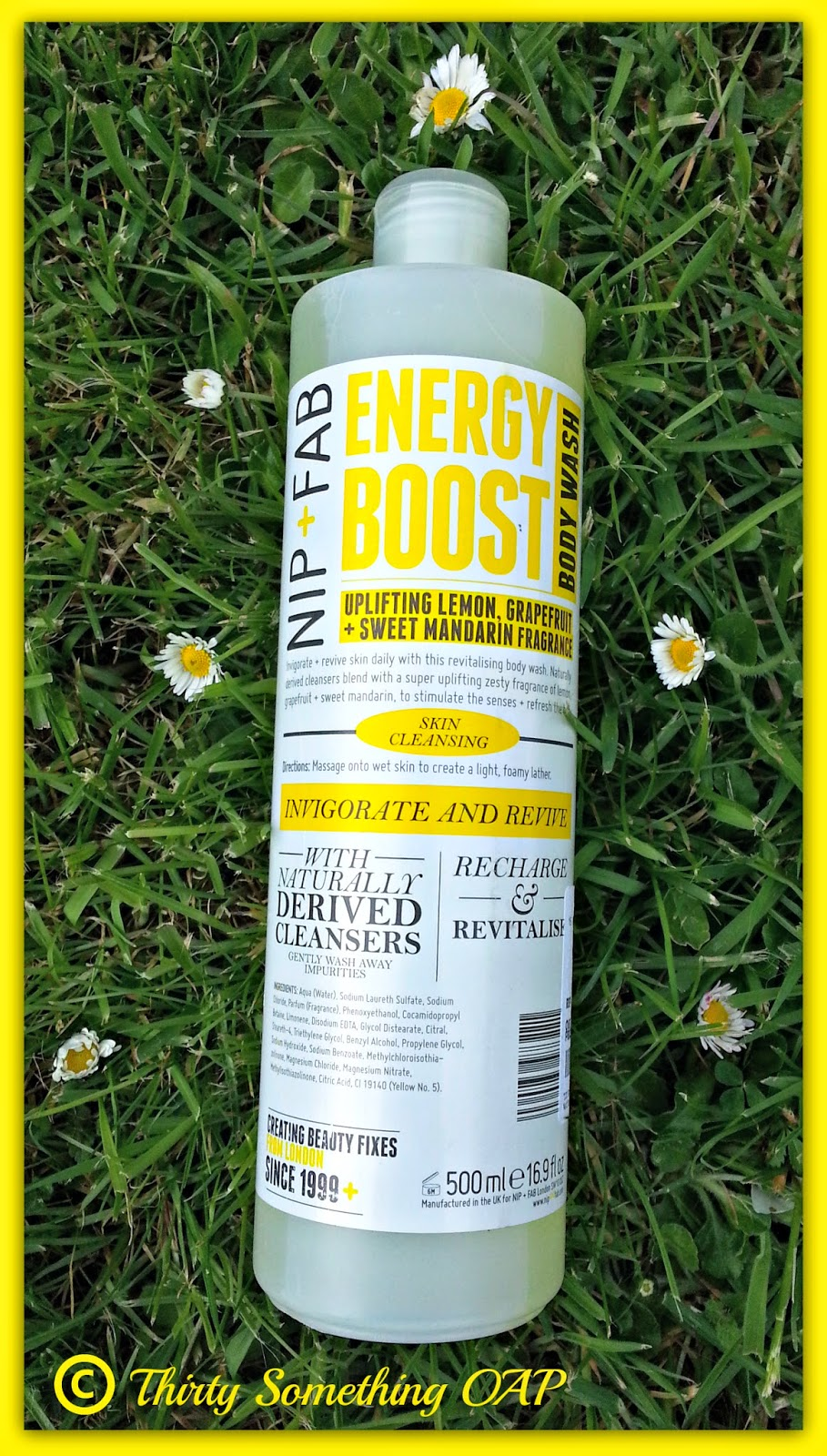 NIP + FAB ENERGY BOOST BODY WASH