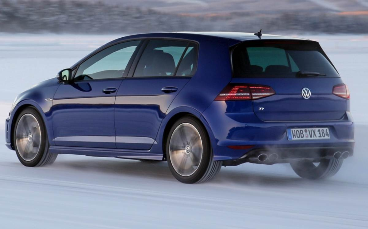 novo Golf R 2015 - drift