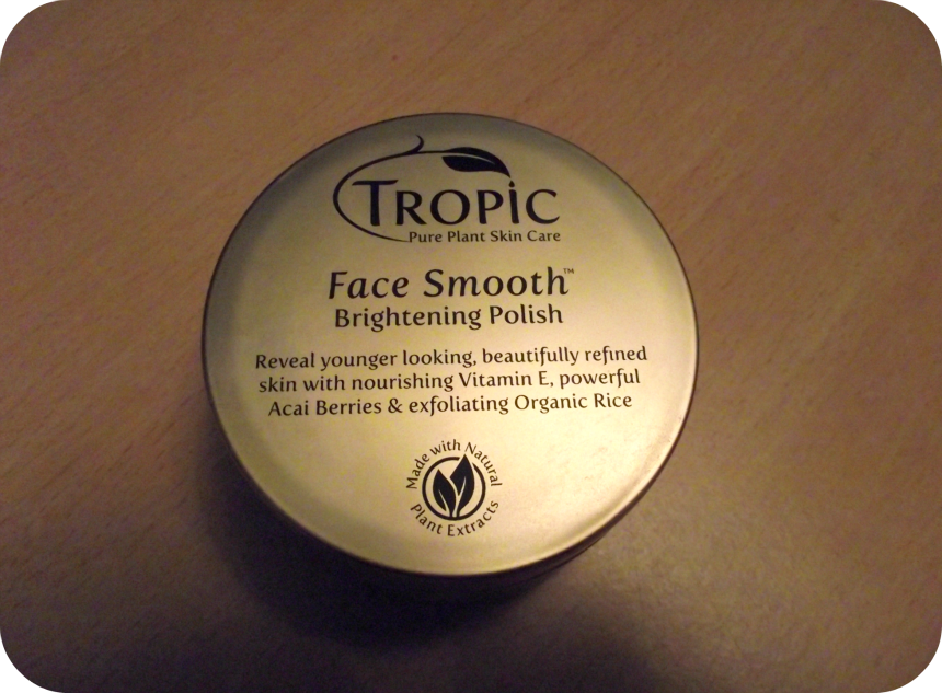 Toxylicious Review Tropic Skin Care Face Smooth Polish