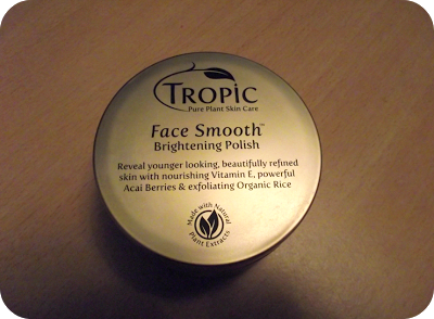 Tropic Skincare Face Smooth Polish