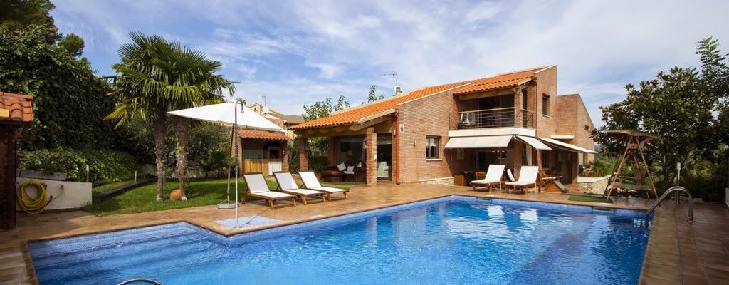 Villa avec piscine priv e barcelone for Villa barcelone avec piscine