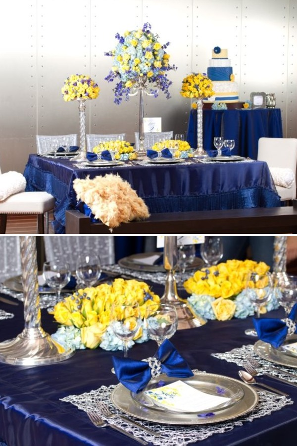 Ask Cynthia Wedding Inspirations Blue And Yellow Catch A Fella