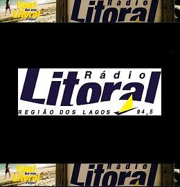 Site da Radio Litoral