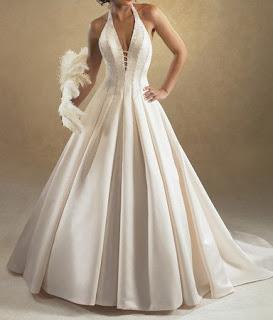 Halter Wedding Gown