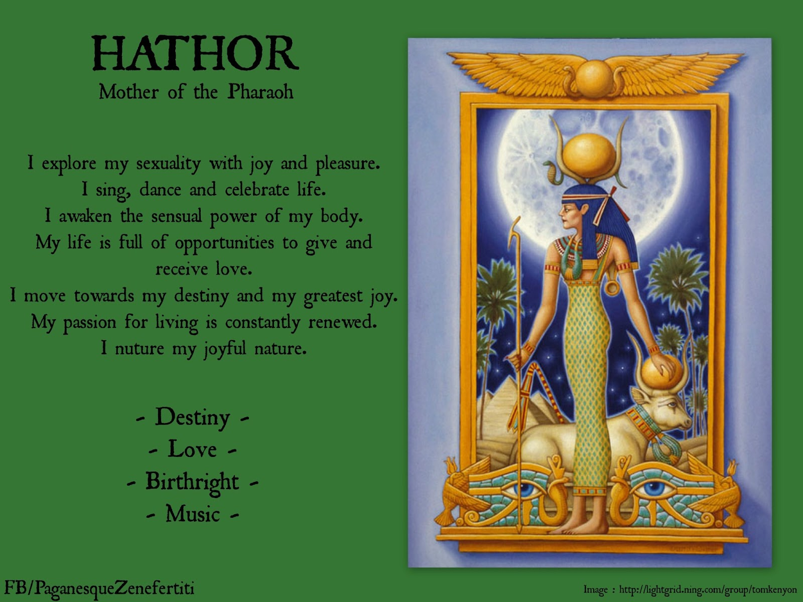 Paganesque june 2013 hathor mother of the pharoah biocorpaavc Gallery