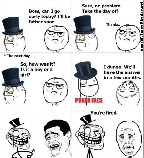 Funny Work Boss Meme : Getting off work girlfriend having baby funny boss meme