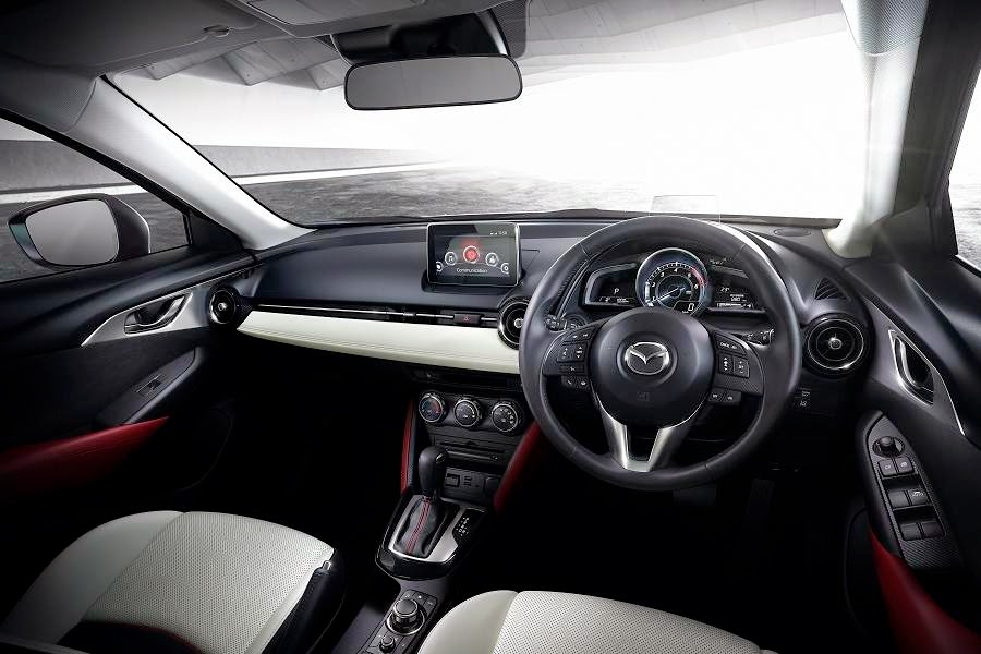 Mazda CX-3 (2016) Dashboard