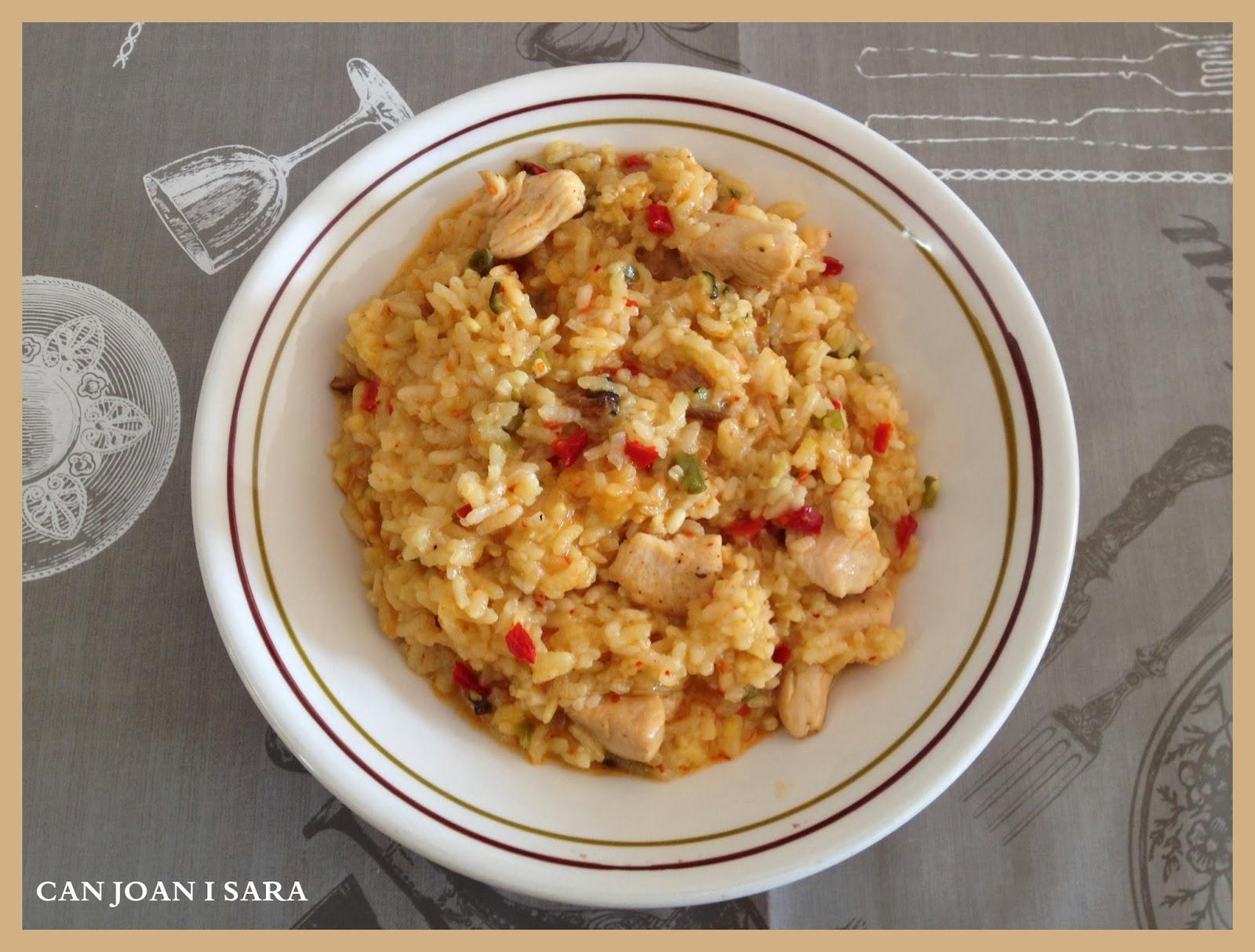 Paella de verduras deshidratadas caja degustabox enero 14 recetas de cocina - Cocina con sara paella ...