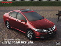 Photo: New facelift version of 2011-2012 Honda City