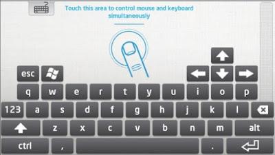 تطبيق لوحة مفاتيح من إنتل للتحكم في اجهزة الكمبيوتر عن بعد