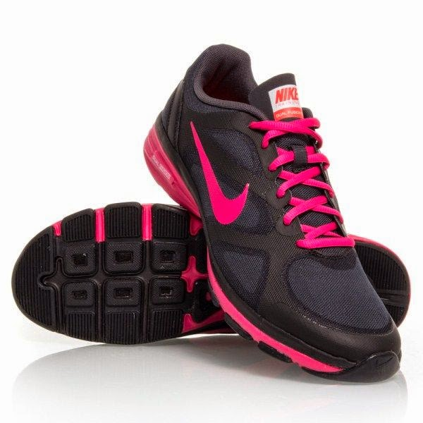 Pix For Nike Free Run Womens Black And Pink