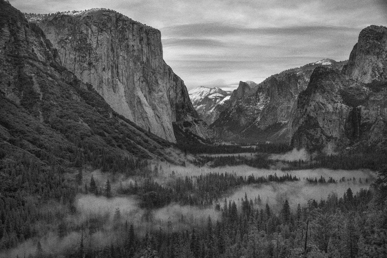 Black & White Yosemite