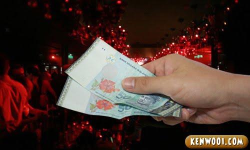 clubbing money