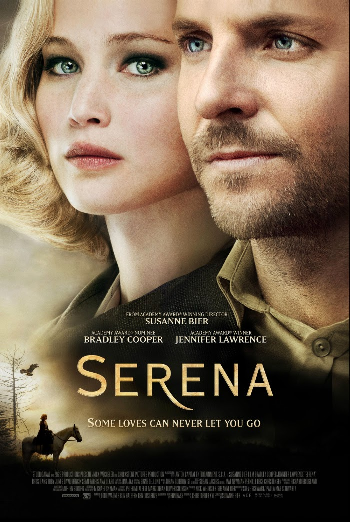 Jennifer Lawrence Serena official poster