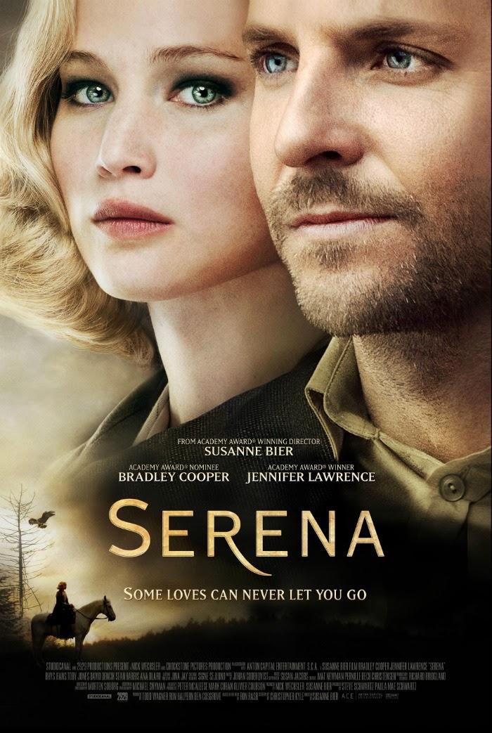 Jennifer Lawrence Serena official poster