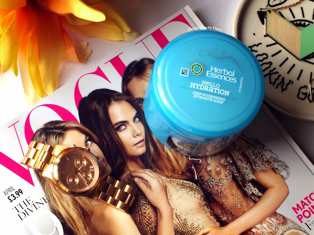 Dino's Beauty Diary - Hair Review - Herbal Essences 'Hello Hydration' Deep Nourishing Intensive Mask