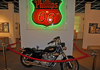 Route 66 State Park Missouri motorcycle troll Visitor Center