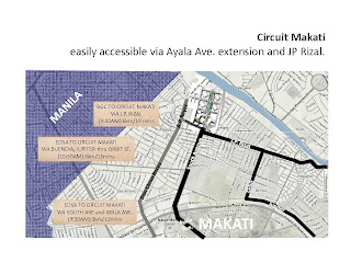 Solstice Makati Location Map