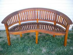 teak garden bench...SOLD