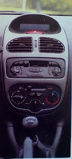 interior del Peugeot 206 xs 1.6