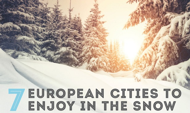 7 European Cities to Enjoy in the Snow