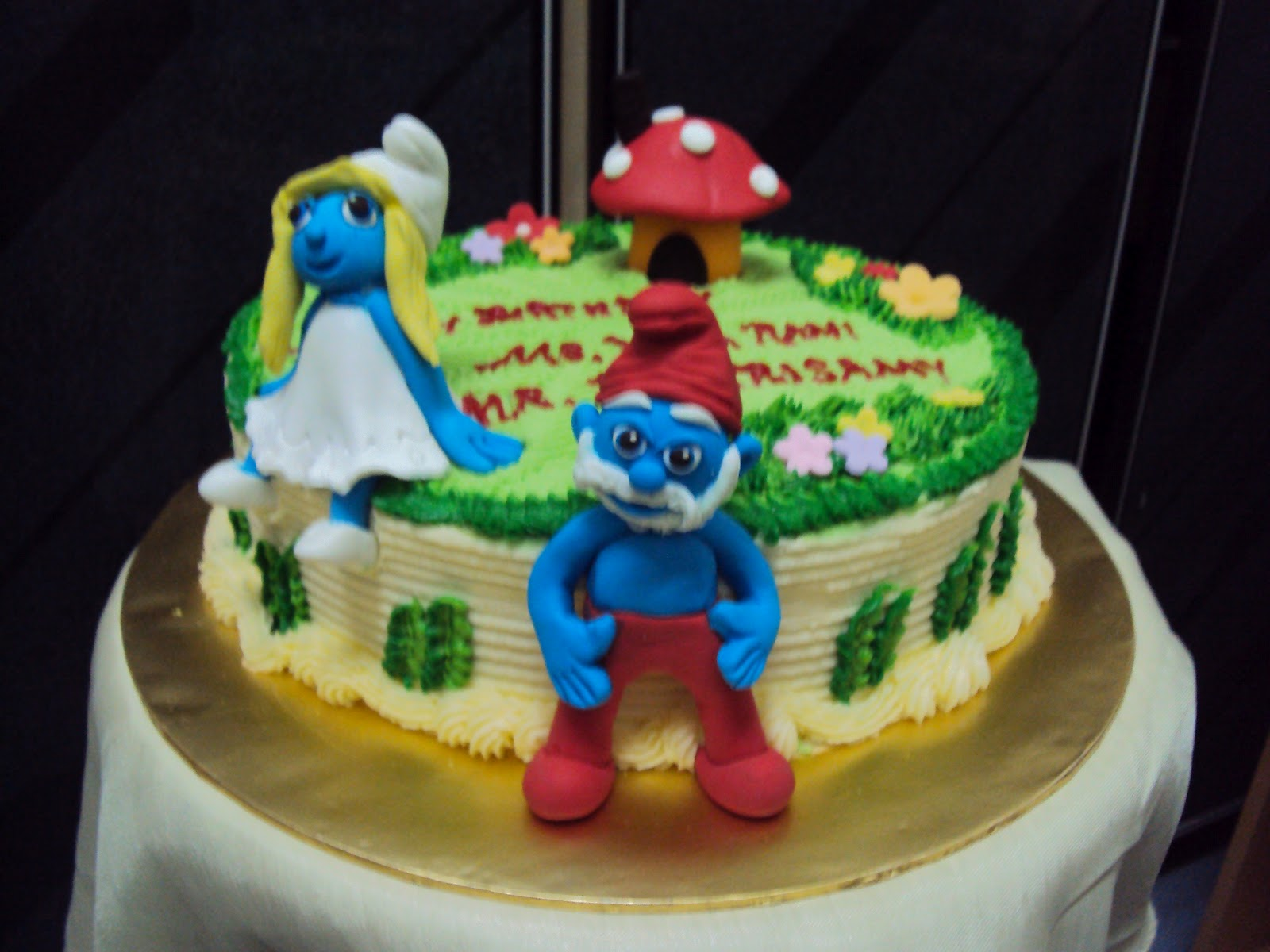Lmis Cakes Cupcakes Ipoh Contact 012 5991233 3d Smurf Cake