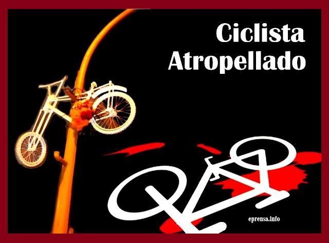 Muere ciclista al chocar en la autopista México - Puebla