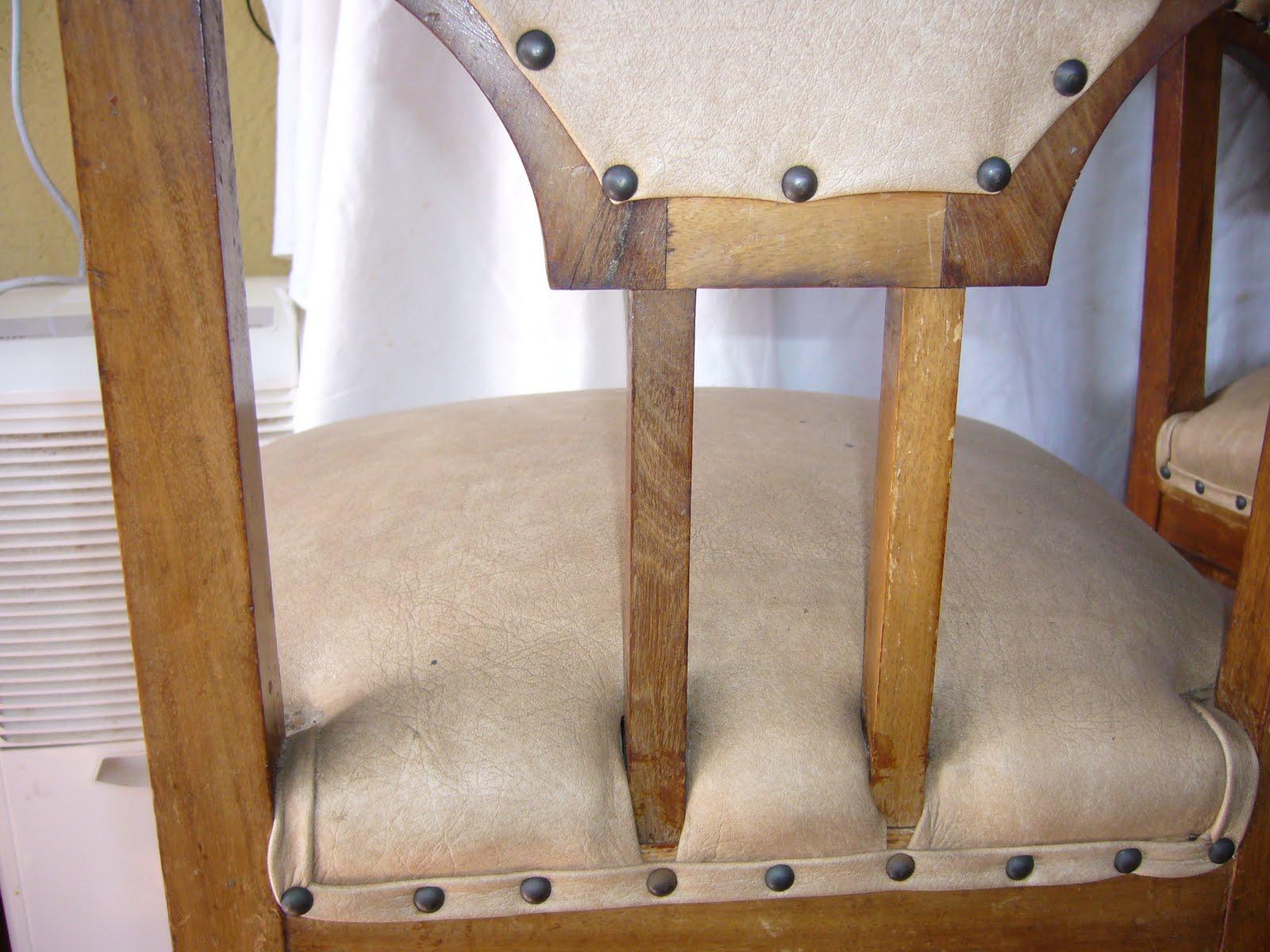 Restauraci n de tres sillas de caoba la restauradora de - Restauracion de sillas ...