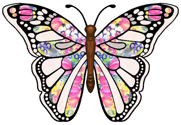 artbyjean - paper crafts butterflies