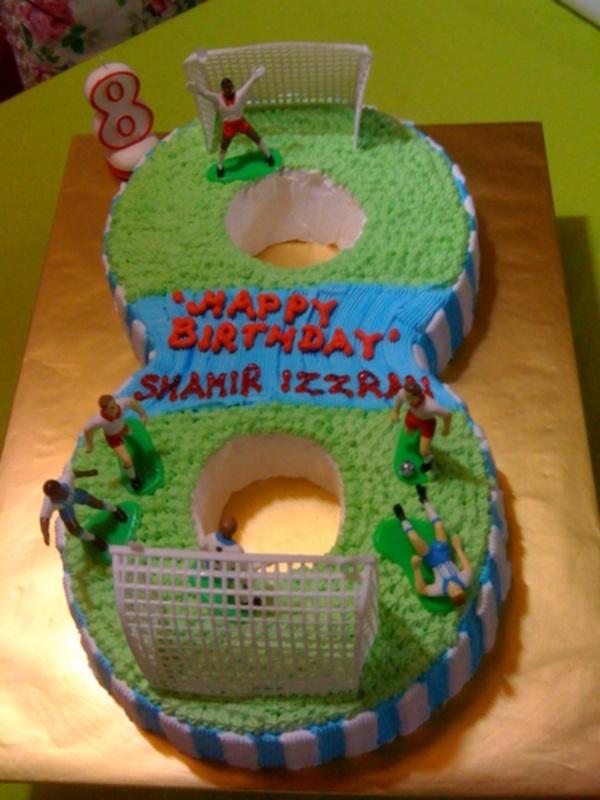 Love Suzana Cakelicious Cake No 8 Happy Birthday Shamir Izzran