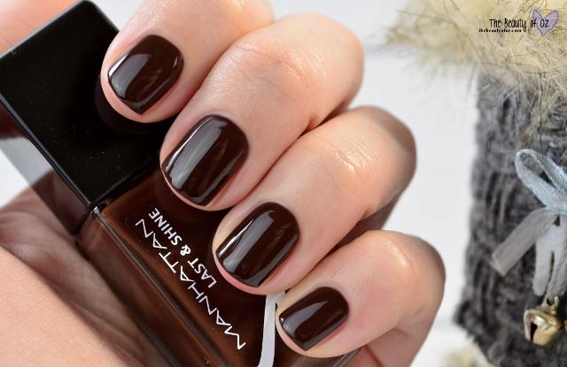 Manhattan Last & Shine Nail Polish Limited Edition