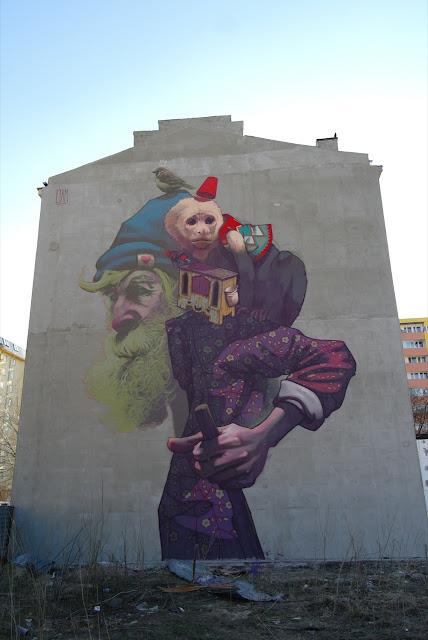 Sainer X Bezt New Mural In Warsaw Poland Streetartnews