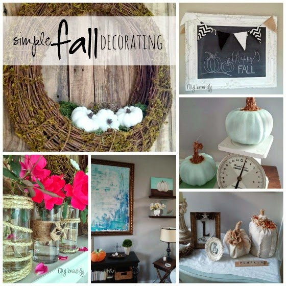 Fall Decor www.diybeautify.com
