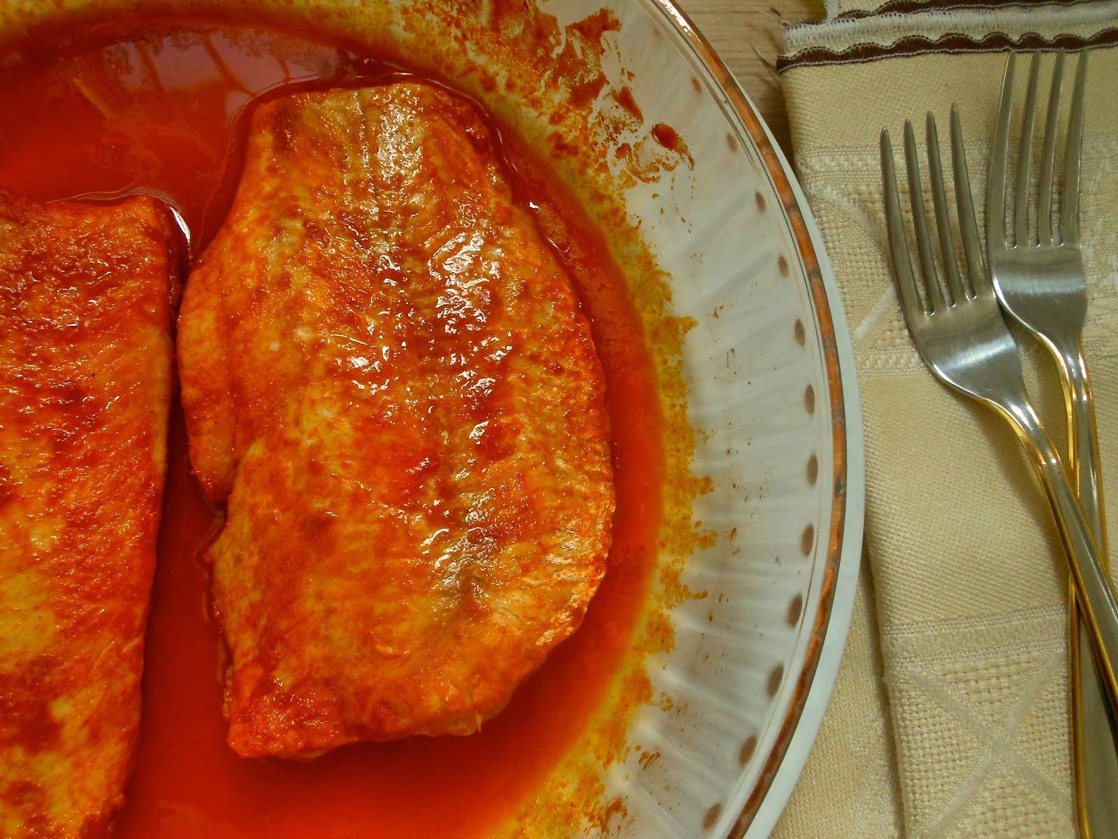 34 pescado al microondas i con piment n el delantal rojo - Pescado al microondas facil ...
