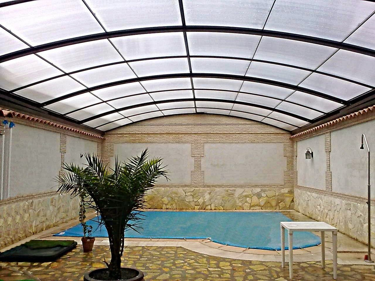 Precios techos moviles de patios fotos de cubiertas para Piscina interior precio