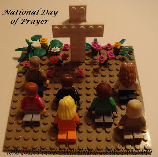 LEGO style National Day of Prayer, Building Legos with Christ