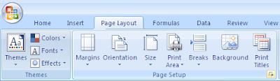Cara Seting Ukuran Kertas Pada Ms Exel