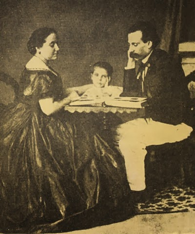 Camilo, Ana Plácido e um dos filhos