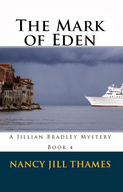 http://www.amazon.com/Jillian-Bradley-Mystery-Series-ebook/dp/B006K1HAME/ref=sr_1_2?ie=UTF8&qid=1342611774&sr=8-2&keywords=the+mark+of+eden+nancy+ji